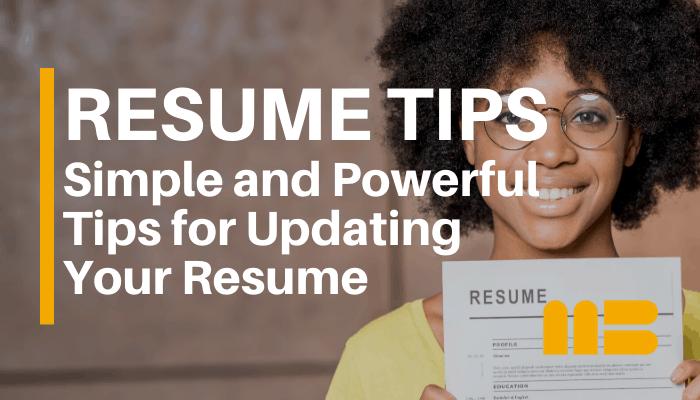 Top Resume Building Tips For 2020 Matchbuilt
