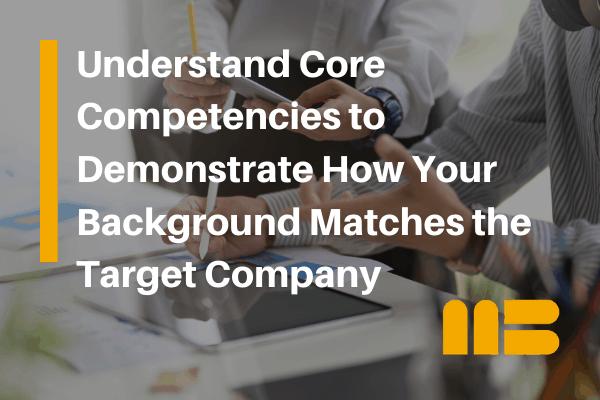 job seeker understanding what are core competencies
